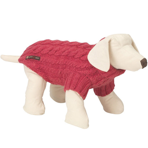 Wilmot Dog Jumper (Pink)