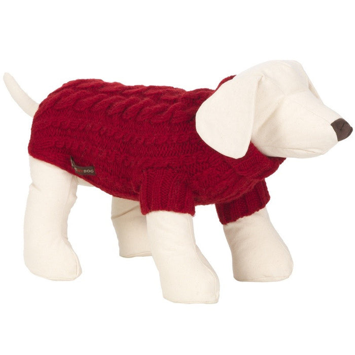 Wilmot Dog Jumper (Red)