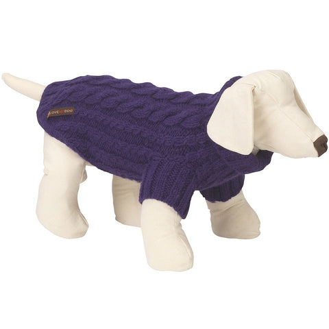 Wilmot Dog Jumper (Purple)