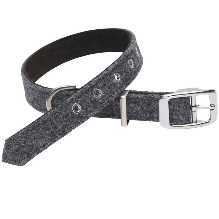 Daplyn Harris Tweed Dog Collar