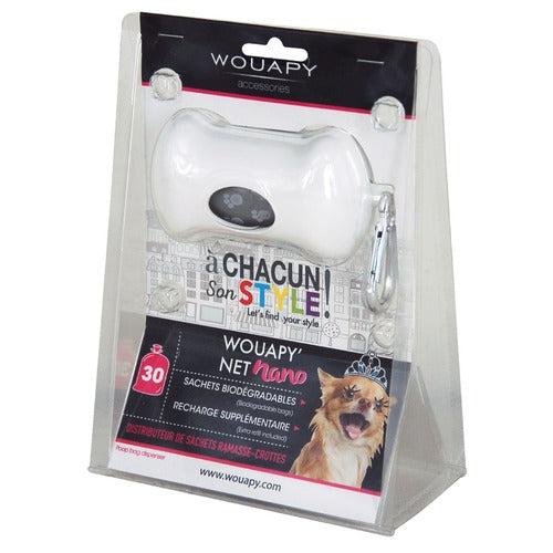 Net Nano Poo Bag Dispenser (White)