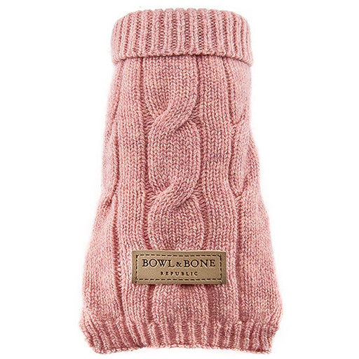 Aspen Dog Sweater (Pink)