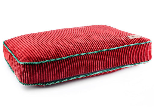 Cushion Deco Dog Bed (Ruby)
