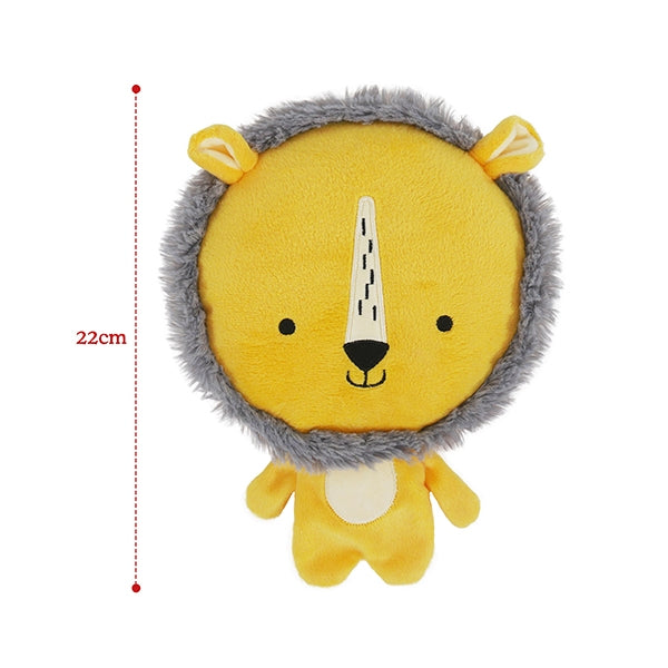 Chubleez Lion Plush Dog Toy