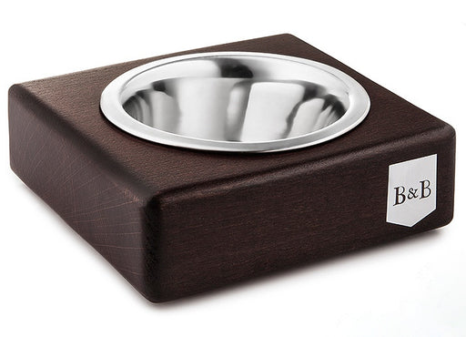 Solo Pet Bowl (Chestnut Mat)