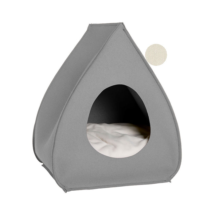 Pet House Pina (Light grey)
