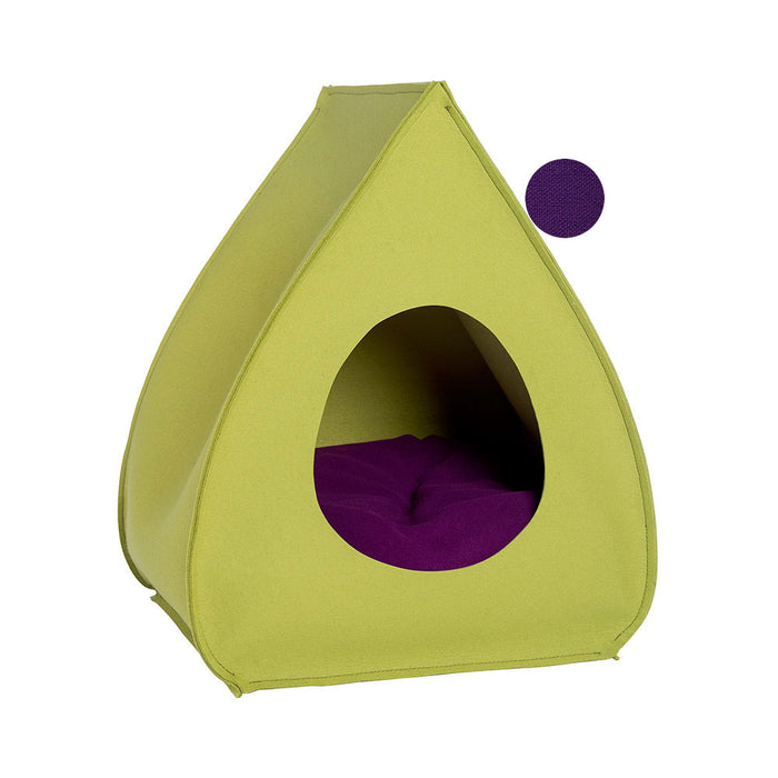 Pet House Pina (Pea Green)