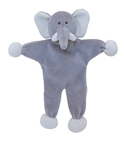 Organic Cotton Dog Toy with Crinkle Sound (Elephant)