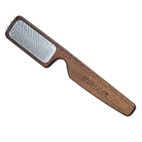 Ergolance Wooden Slicker Dog & Cat Brush