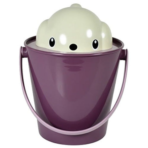 Crock Dog Food Container + Scoop (Purple)