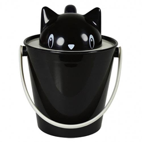 Crick Cat Food Container + Scoop (Nero)
