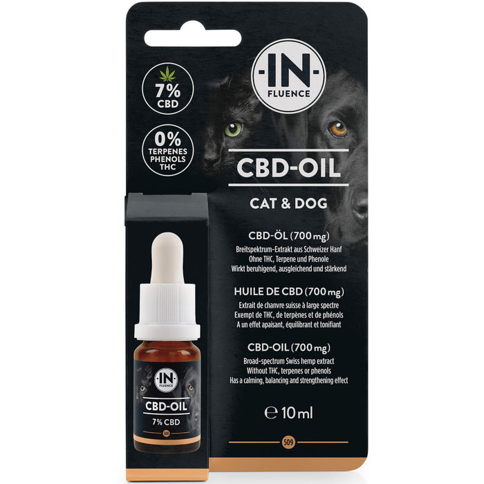 CBD Oil for Dogs & Cats - High Strength 7% (10 mls)