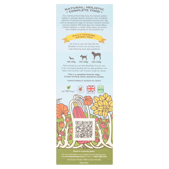 Breakfast Crunch with Turkey, Fruit & Yoghurt Dog Food (800g)
