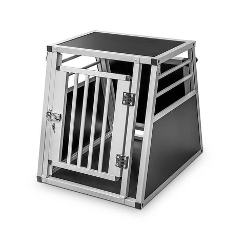 Dog Transport Aluminium Double Box (Chicca)