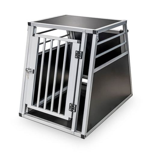 Dog Transport Aluminium Box (Moss)