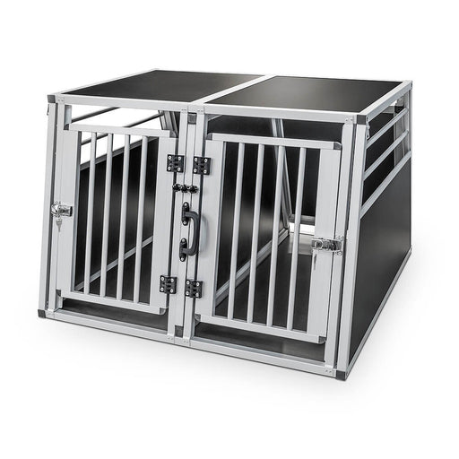 Dog Transport Aluminium Double Box (Barkley)