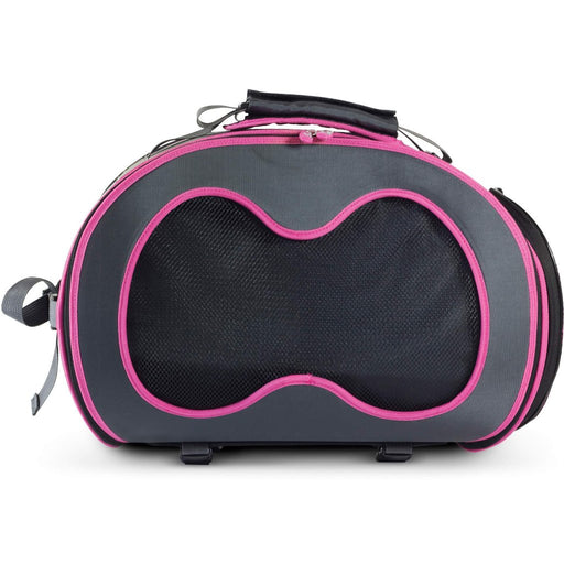 Dillo Urban Pet Carrier grey/pink