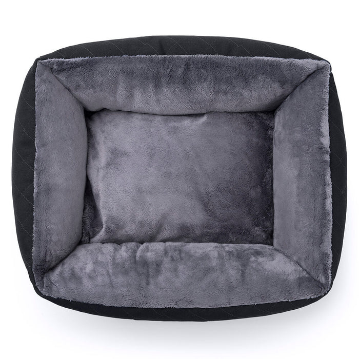 Knight Pet Bed (black/grey)