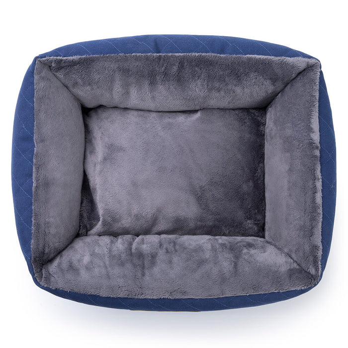 Knight Pet Bed (blue/grey)