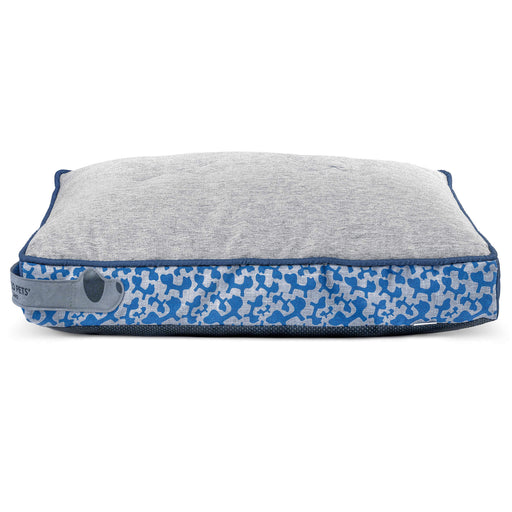 Ronfie Cushion Dog Bed (Blue)