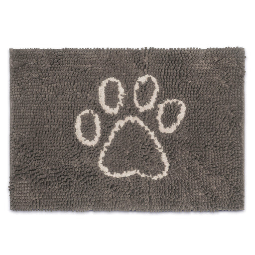 Dirty Dog Doormat (Mist Grey)