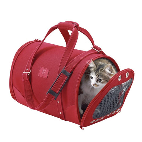 Pet Carrier Parisian (Red)