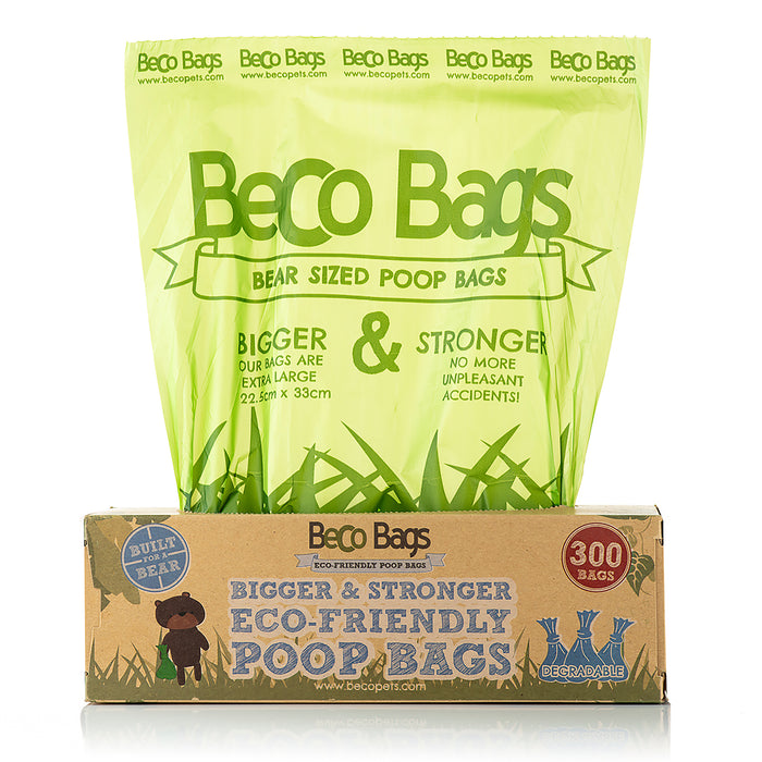 Beco Degradable Poop Bags Dispenser Pack (300)