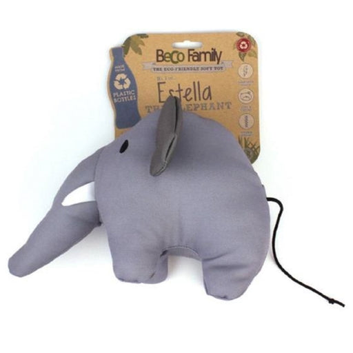 "Beco Plush Dog Toy ""Estella the Elephant"""
