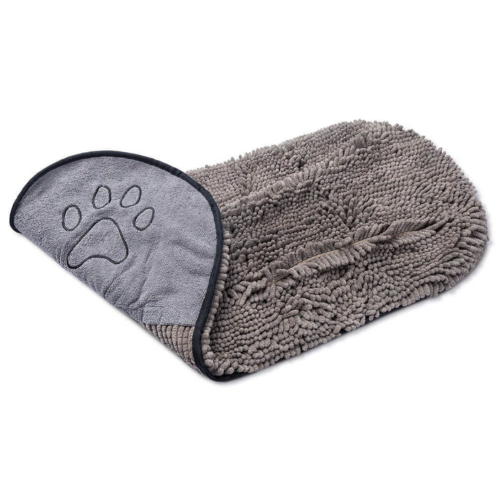 Dirty Dog Shammy Towel (Grey)