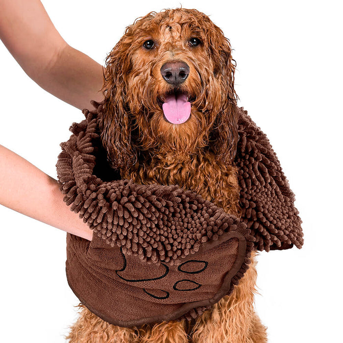 Dirty Dog Shammy Towel (Brown)