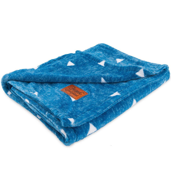 Cat Blanket (Snow Blue)