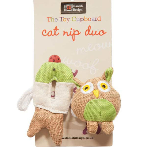 Catnip Duo Cat Toy (Fido + Fish Friends)