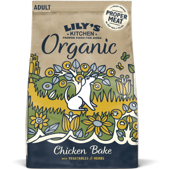 Organic Chicken & Vegetable Dry Dog Food