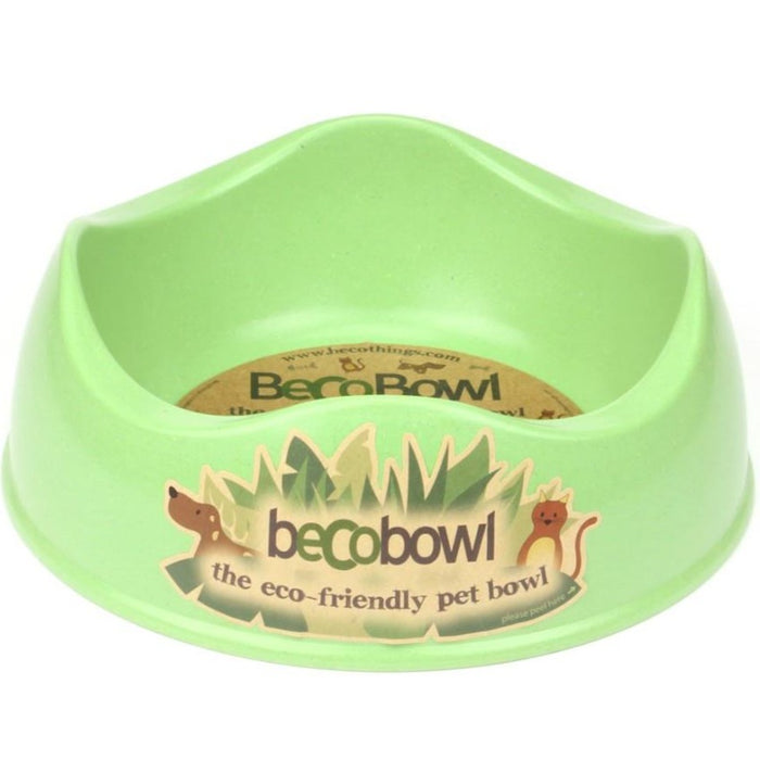 Beco Bamboo Dog Bowl (Green)