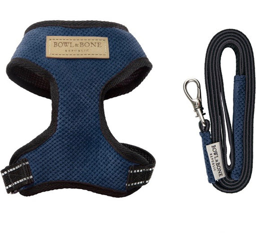 Candy Dog Harness & Lead Set (Blue)