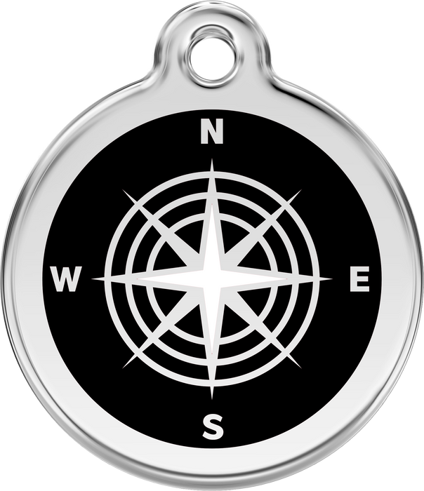 Compass Dog Tag