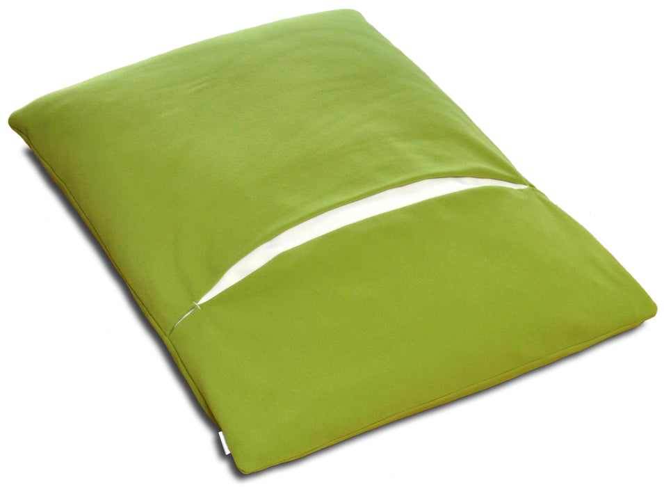 Divan Due Pet Bed with Blanket (Pea Green/Cream)
