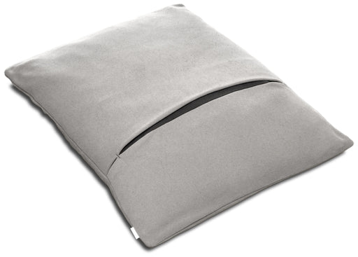 Divan Due Pet Bed with Blanket (Light Grey/Graphite)