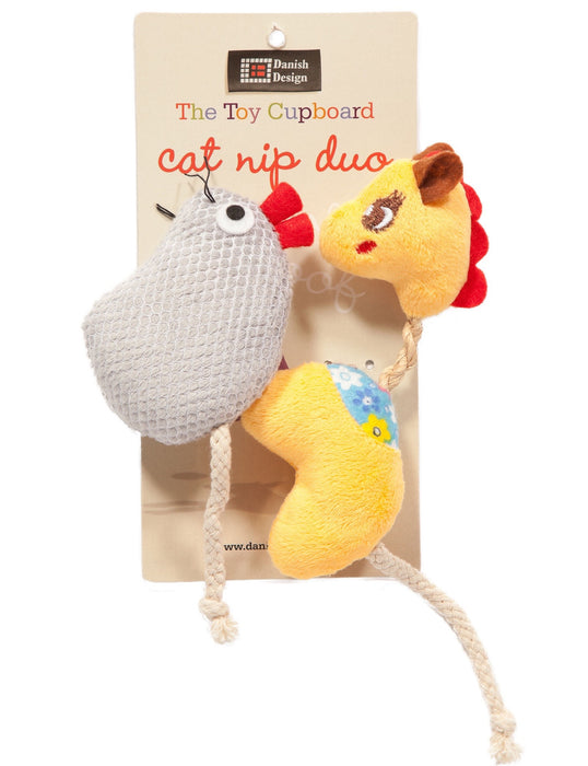 Catnip Duo Cat Toy (Gracie + Milly)
