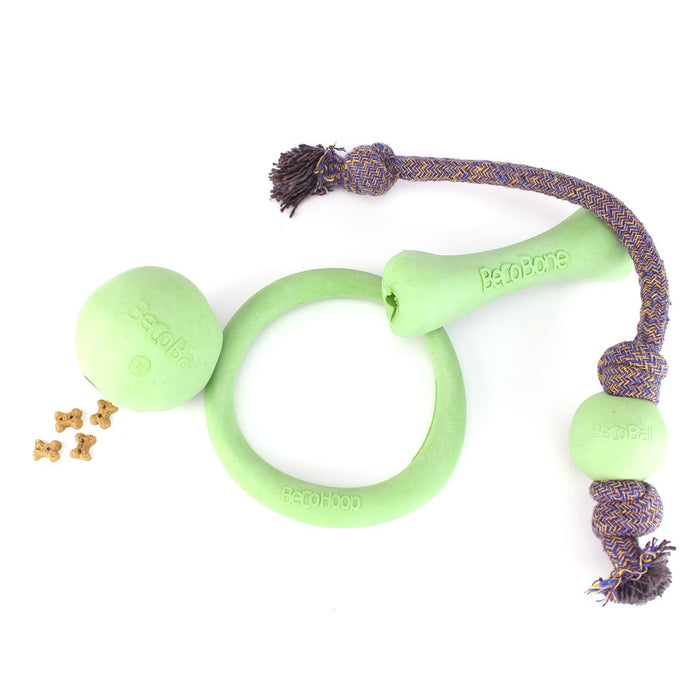 Beco Hoop dog toy (Green)