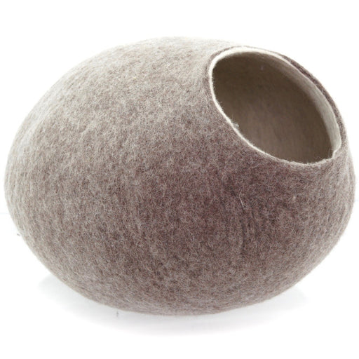 Kivikis Wool Cat House (Sand Brown)