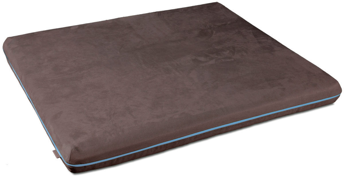 Mary Memory Foam Dog Bed (Brown)