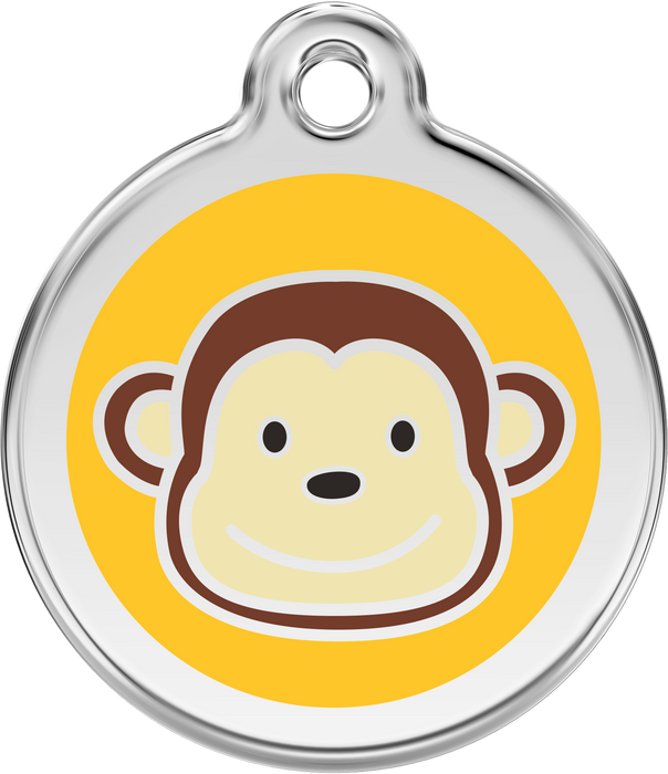 Monkey Dog Tag