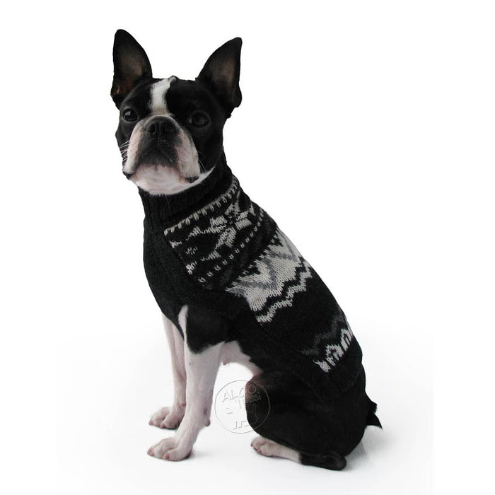 Knitted Dog Sweater (Paco's Design)