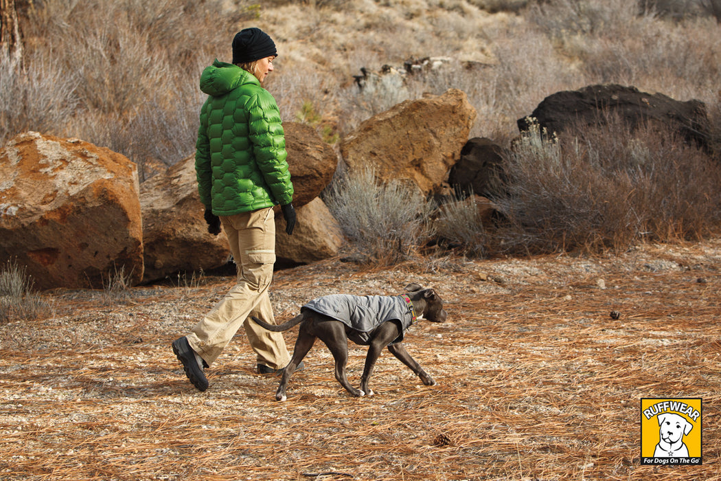 Quinzee™ Grey - Warm Insulated Dog Jacket