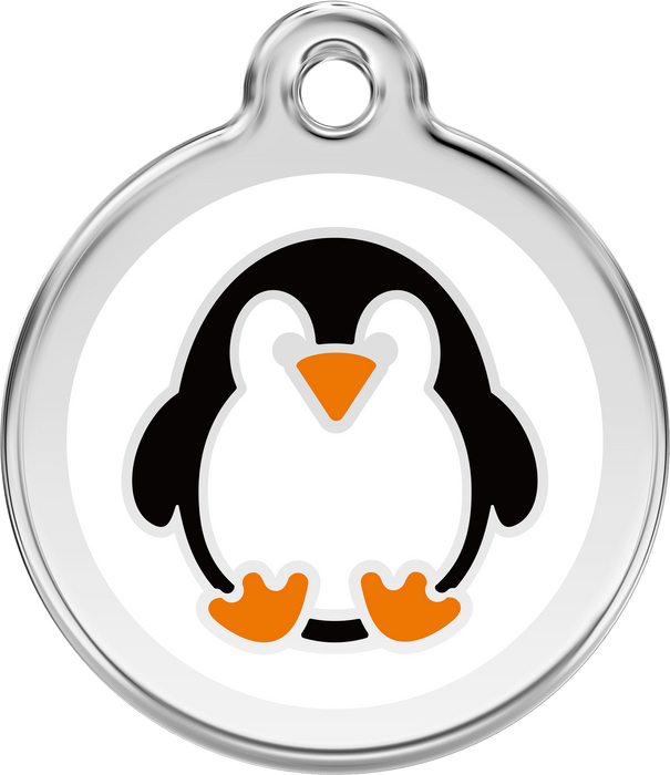 Penguin Dog Tag