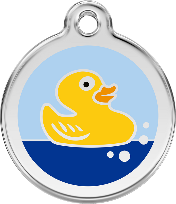 Rubber Ducky Dog Tag