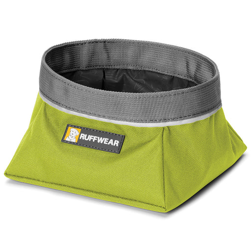 Quencher™ - Portable Dog Bowl (Forest Green)