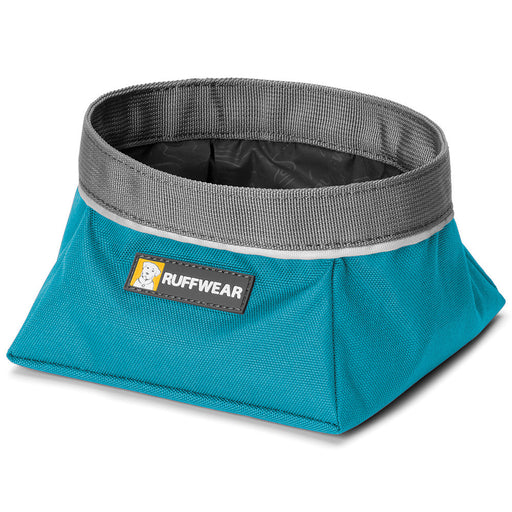 Quencher™ - Portable Dog Bowl (Pacific Blue)