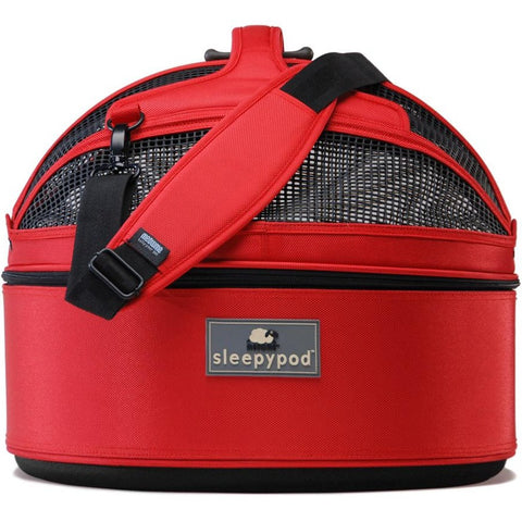 Sleepypod Pet Carrier (Strawberry Red)